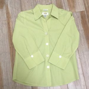 Talbots wrinkle resistant button down